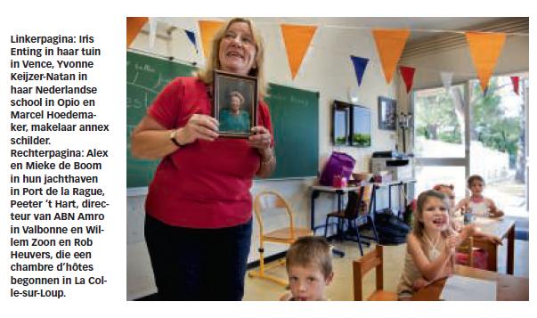 Nederlandse school De Gouden Klomp in de Volkskrant