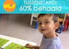 Tablets voor de school: de teller staat op 60%!